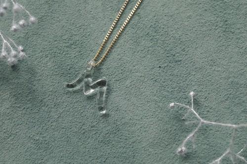 【予約注文】HAAL-M-001N ネックレス Alphabet・M