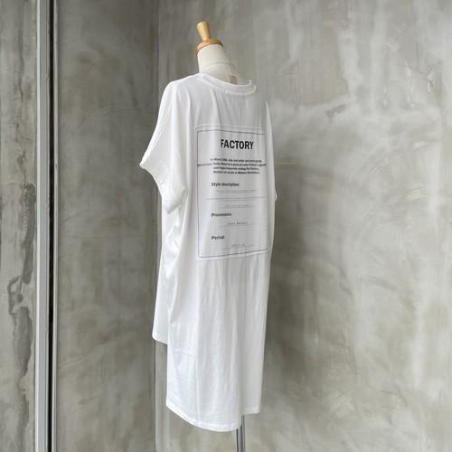 【大人気アイテム】CYNICAL/パッチワークバックプリントTシャツ