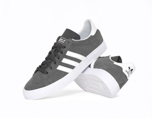 adidas Skateboarding / Campus Vulc Ⅱ Adv / Skateshoes / Grey-White / US8.5 (26.5cm) / アディダス スケートボーディング / キャンパス バルカ2