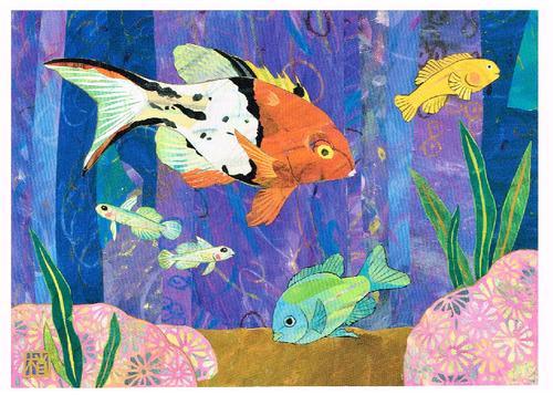 2012年「ヒオドシベラと愉快な仲間たち」絵はがき