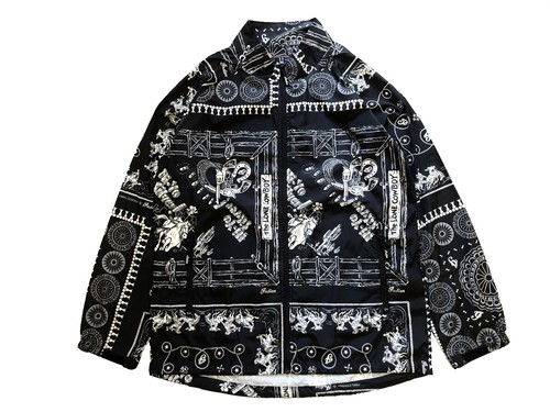 PAISLEY NYLON JACKET / INDIAN