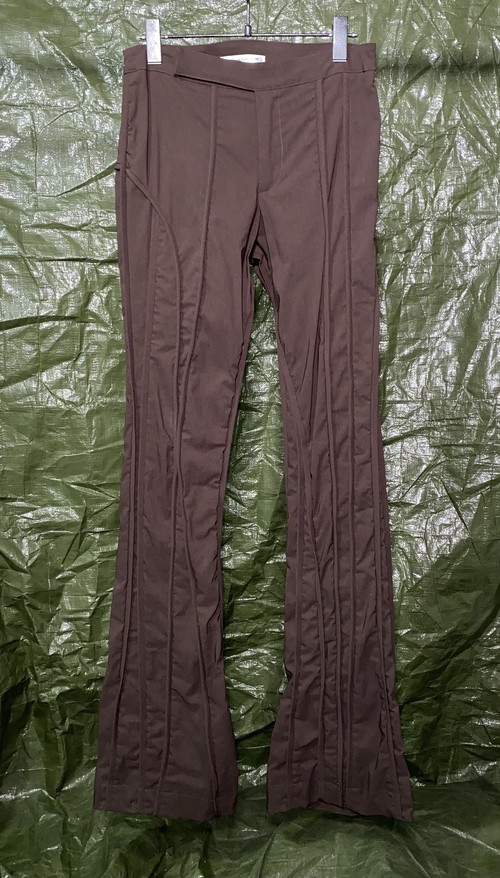 MAINLINE MARTIJN FIITED FLARE TROUSERS