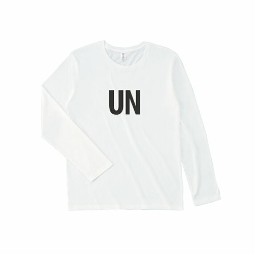 unfudge Long sleeve T-shorts // white