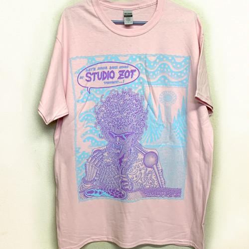 studio Zot × TETSUNORI TAWARAYA 2020 Tシャツ(ライトピンク)