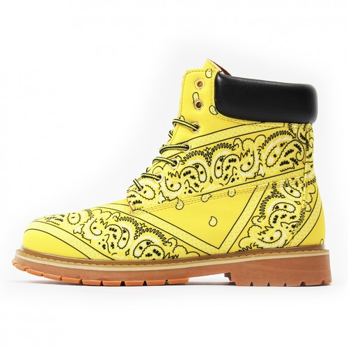NOT FOR SALE Paisley Boots YELLOW