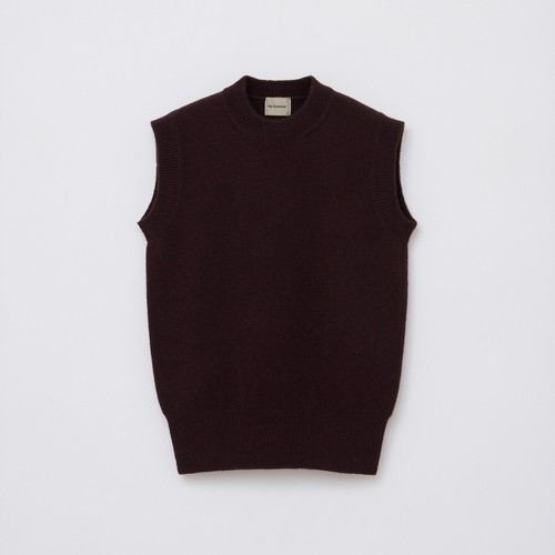 Sleeveless Knit / Brown