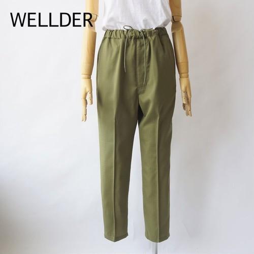 WELLDER /ウェルダー ・Drawstring Trousers