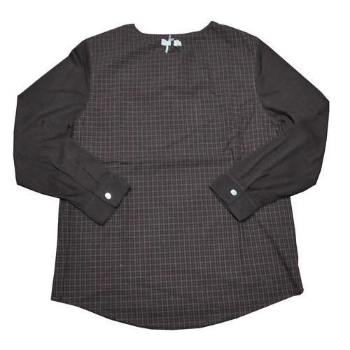 【bulk】切り替えプルオーバーシャツ