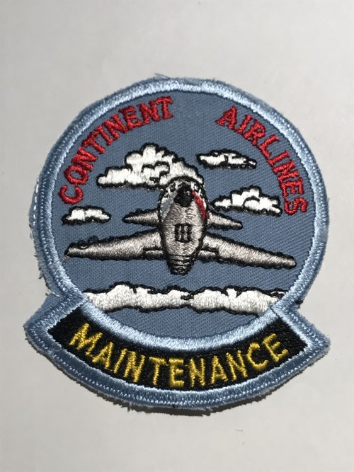 "OLDPatch""CONTINENT AIRLINES"""