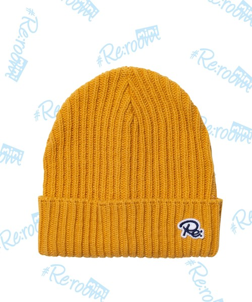 Re PATCH KNIT CAP[RKH001]