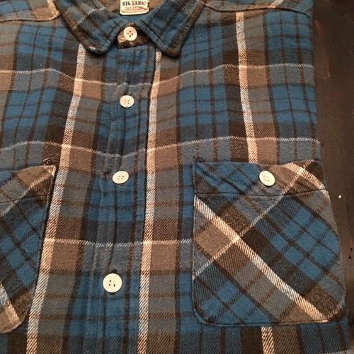 Vintage 60s BIG YANK Heavy Flannel Shirt