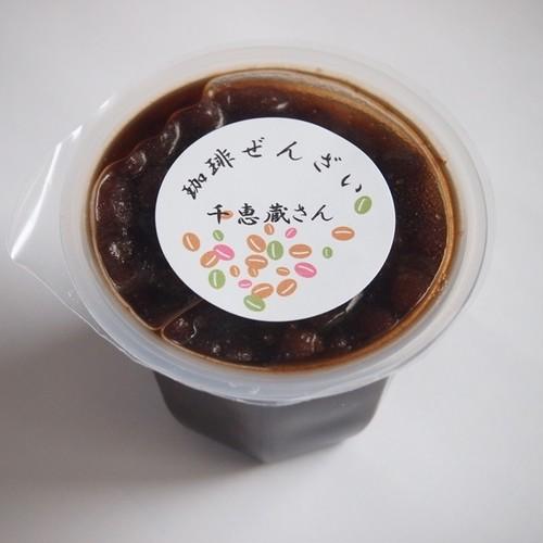 珈琲ぜんざい アイスクリームにのせて。カフェオレ風で! 賞味期限2019.01.30