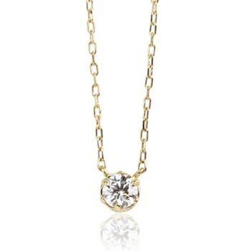 K18 クラシカルダイヤモンドネックレス