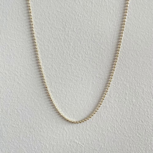 【14K-3-29】18inch 14K real gold chain necklace