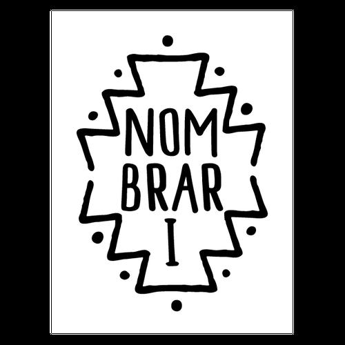 NOMBRARI エンブレム ステッカー(CUTOUT)