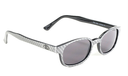 Original KD's biker shade  - Carbon Fiber Design #KD2022