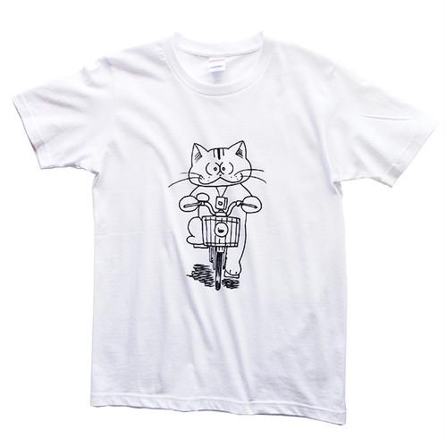 化け猫あんずちゃん ママチャリ【Tシャツ】