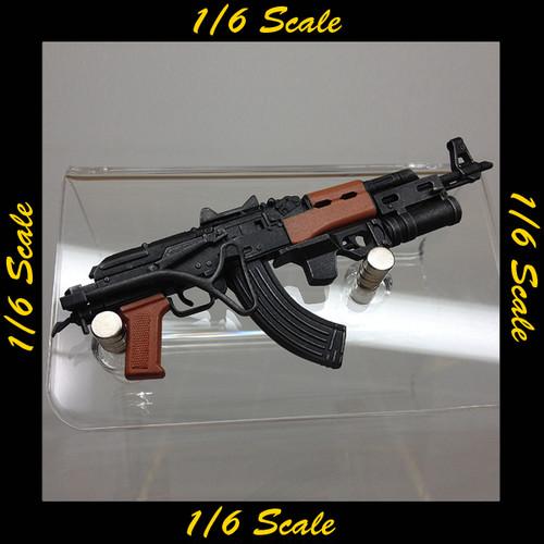 【00808】 1/6 ホットトイズ AK47 GP25 グレネードランチャー