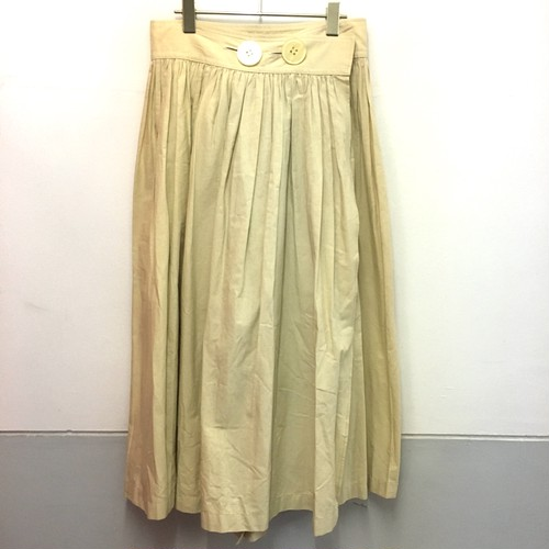 big button rap skirt