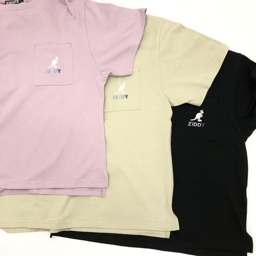 ZIDDY ジディー 【KANGOL×ZIDDY】ポケット ロゴ BIGTシャツ 1235-325349