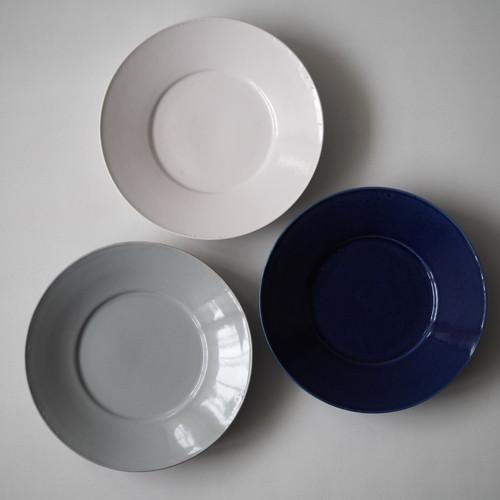 石田誠 紅毛手7.5寸リム皿#4