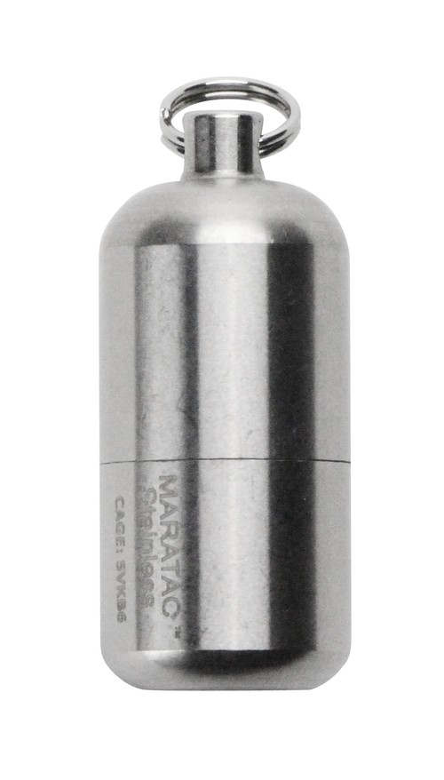 "【MARATAC】Stainless Peanut Lighter ""S"""