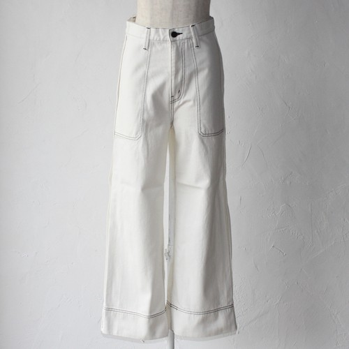 【SAYAKADAVIS×SERGE de bleu】Out Seam Denim