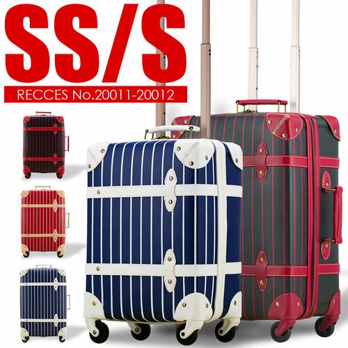 【アウトレット】 RECESS No.20011-12 SSサイズ Sサイズ トランク ファスナーキャリー