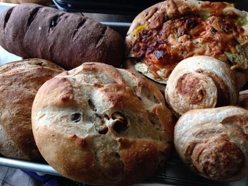 自家製天然酵母のパン(お試しセット) (送料込み)