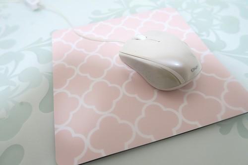 モロッカン柄マウスパッド【ピンク】MP014