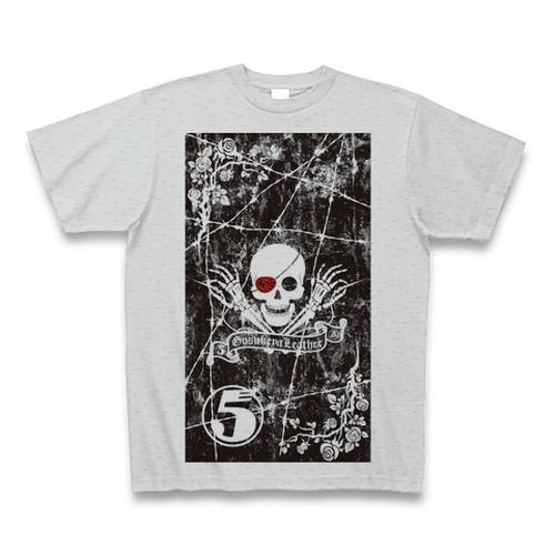 五助屋レザーTシャツ グレー