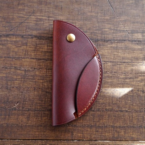 TETO 05 key case /red brown レッドブラウン