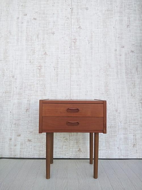 北欧ビンテージ・デンマーク製チーク材サイドチェスト no.609-2