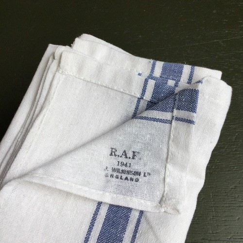 40's British Army Royal Air Force  Towel / Dead stock
