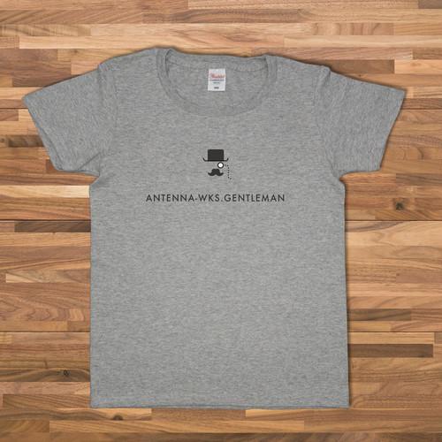 GENTLEMAN Tシャツ/グレーCWE-097GR