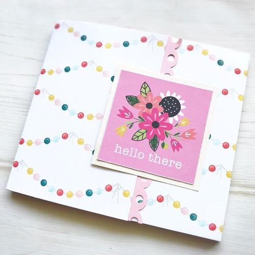 【エコー写真を保存】母子手帳にはさむミニブックGIRL