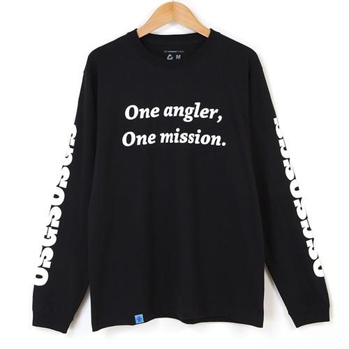 ★OSGSロングスリーブTシャツ★ ブラック