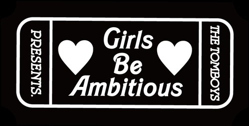 Girls Be Ambitiousステッカー