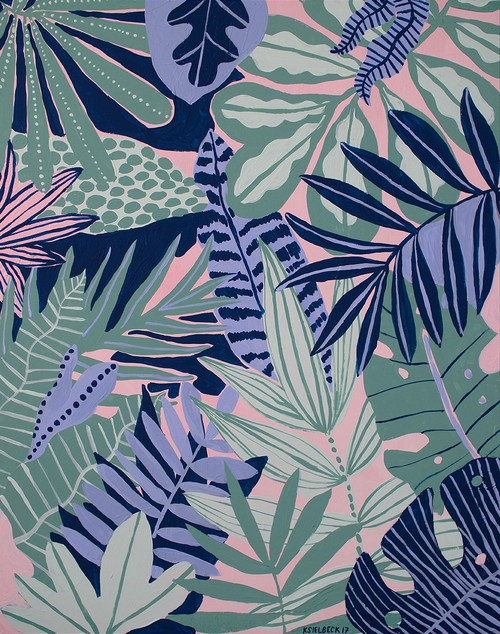[KIM SIELBECK] PLANTS ON PINK