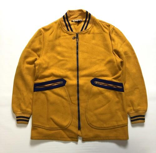 60's McGREGOR Wool Car Club Jacket ビンテージ マクレガー カークラブジャケット(ROBIN ZIP使用,ナス大型ポケット)