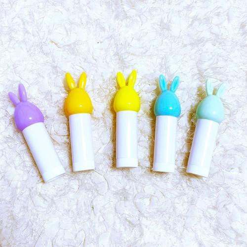 リップクリーム容器(うさぎ)
