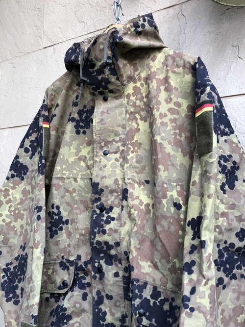 Old German military camouflage GORE-TEX Jacket