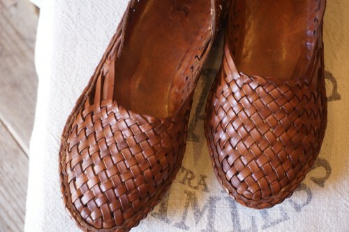 Matta woven leather slip-on Shoes