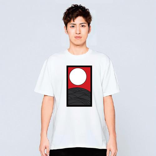 花札 Tシャツ メンズ レディース かわいい 白 夏 プレゼント 大きいサイズ 綿100% 160 S M L XL