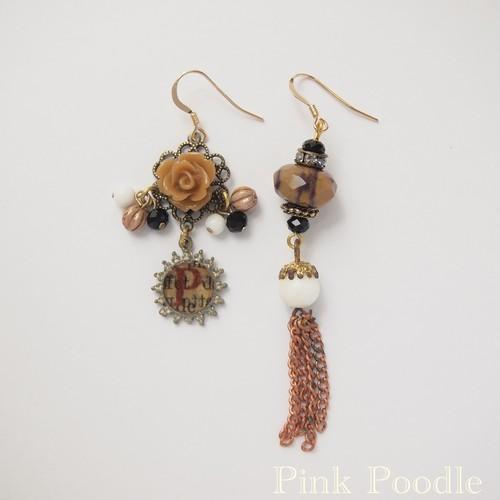 < Earrings >P-NO.793