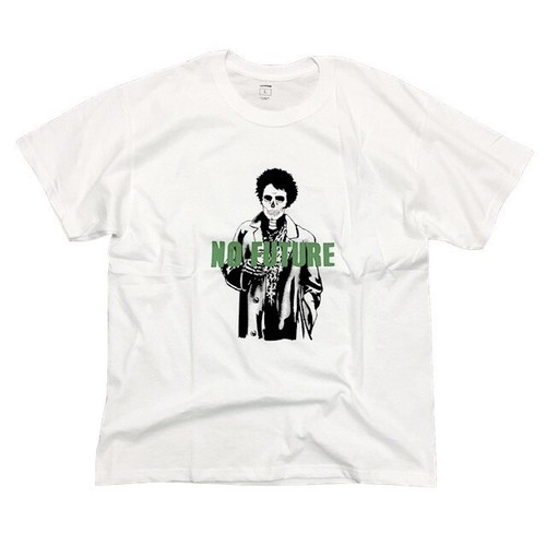 THEIMEMIND × RESTORATION - SID VICIOUS TEE (WHITE) -