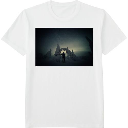71.Finland100 Tシャツ / 星降る氷の森