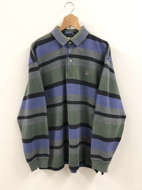 Tommy Hilfiger L/S Stripe Polo Shirt