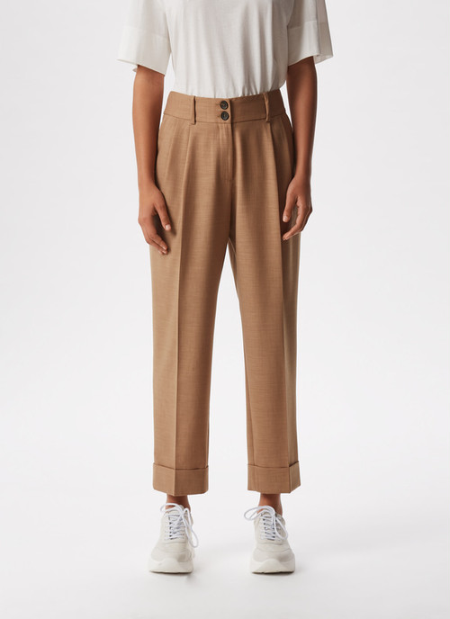 CARROT FIT ELASTIC TROUSERS