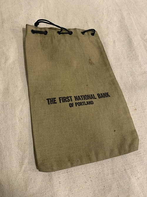 "BANK BAG "" THE FIRST BANK OF OREGON #2 """